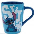 Disney Store Character Mug Stitch 2016 Blue New