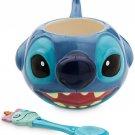 Disney Store Spoon and Coffee Mug Stitch 2015 New