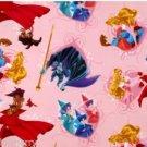 Disney Sleeping Beauty Aurora Pink Blanket  Hand Tied Fleece Baby Pet Lap