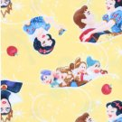 Disney Snow White and the Seven Dwarfs Yellow Blanket  Hand Tied Fleece Baby Pet Lap