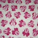 Disney Minnie Mouse White Blanket Hand Tied Fleece Baby Pet Lap
