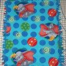 """Disney Dumbo Fleece Baby Blanket Pet Lap 24"""" x 30"""""""