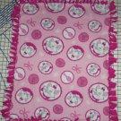 """Disney Marie Fleece Baby Blanket Pet Lap 24"""" x 30"""""""