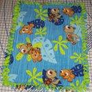 """Disney Finding Nemo Fleece Baby Blanket Pet Lap 24"""" x 30"""""""