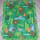 """Disney Jungle Book Fleece Baby Blanket Pet Lap 24"""" x 30"""" New"""