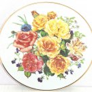 Majesty Rose Flowers Collector Plate The Franklin Mint Radiant Sunrise