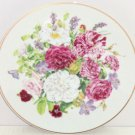 Majesty Rose Flowers Collector Plate The Franklin Mint Regal Heritage