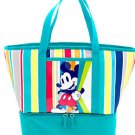 Disney Store Mickey Mouse Summer Fun Cooler Bag Lunch Tote 2016