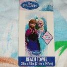 Disney Frozen Elsa Anna Snowflakes Beach Towel 2014