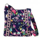Vera Bradley Hipster Bag Shoulder Handbag Purse Crossbody Ribbons