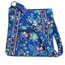Vera Bradley Disney Hipster Blue Handbag Purse Mickey Minnie Dreaming