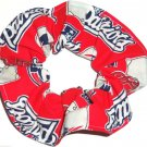 New England Patriots Football Fabric Hair Scrunchie Scrunchies NFL