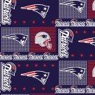 New England Patriots Football Patchwork Fabric Hair Scrunchie Scrunchies NFL