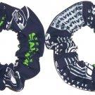 Seattle Seahawks Football Fabric Hair Scrunchies NFL Set of 2