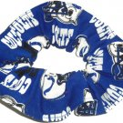 Indianapolis Colts Football Fabric Hair Scrunchie Scrunchies NFL