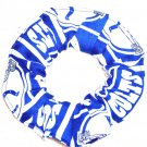 Indianapolis Colts Football Duck Cloth Fabric Hair Scrunchie Scrunchies NFL