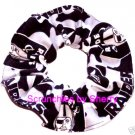 Los Angeles Raiders Football Camo Flannel Fabric Hair Scrunchie Scrunchies NFL