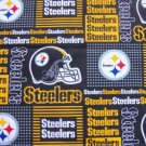 Pittsburgh Steelers Patchwork Football Fabric Hair Scrunchies Scrunchie NFL