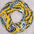 Green Bay Packers Football Duck Cloth Fabric Hair Scrunchie Scrunchies NFL
