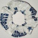 Dallas Cowboys Football Multi Fabric Hair Scrunchie Scrunchies NFL