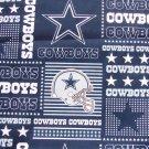 Dallas Cowboys Football Patchwork Fabric Hair Scrunchie Scrunchies NFL