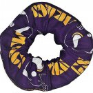Minnesota Vikings Purple Fabric Hair Scrunchie NFL