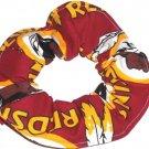 Washington Redskins Football Maroon Fabric hair Scrunchie Scrunchies NFL