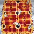 Washington Redskins Blanket Plaid Fleece Baby Pet Dog NFL Football Shower Gift