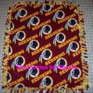 Washington Redskins Blanket Toss Fleece Baby Pet Dog NFL Football Shower Gift