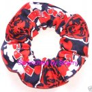 Chicago Bears Football Camo Flannel Fabric Hair Scrunchie Scrunchies NFL