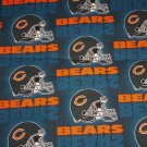 Chicao Bears Football Duck Cloth Fabric Hair Scrunchie Scrunchies NFL