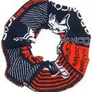 Denver Broncos Football Patchwork Fabric Hair Scrunchie Scrunchies NFL