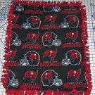 Tampa Bay Buccaneers Pewter Fleece Baby Pet Lap Blanket Football NFL