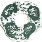 New York Jets Football Fabric Hair Scrunchie Scrunchies NFL