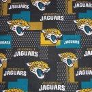Jacksonville Jaguars Football Patchwork Fabric Hair Scrunchie Scrunchies NFL