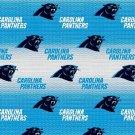 Carolina Panthers Football Blue Fabric Hair Scrunchie Scrunchies NFL