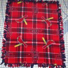 St Louis Cardinals Plaid Fleece Blanket Hand Tied Baby Pet Dog Lap MLB Baseball