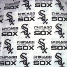 Chicago White Sox White Fabric Hair Ties Scrunchie Scrunchies by Sherry