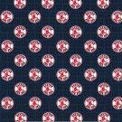 Boston Red Sox Mini Print Fabric Hair Ties Scrunchie Scrunchies by Sherry MLB Baseball