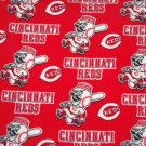 Cincinnati Reds Fleece Blanket Hand Tied Baby Pet Dog Lap MLB Baseball