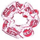 Cincinnati Reds Fabric Hair Scrunchie Scrunchies by Sherry MLB Baseball