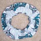 Florida Marlins Baseball Fabric Hair Scrunchie Scrunchies by Sherry MLB