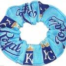 Kansas City Royals Blue Fabric Hair Scrunchie Scrunchies by Sherry MLB Baseball
