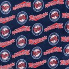Minnesota Twins Fleece Blanket Hand Tied Baby Pet Dog Lap MLB Baseball