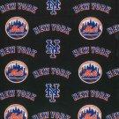 New York Mets Fabric Hair Scrunchie Scrunchies by Sherry MLB Baseball