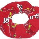 St Louis Cardinals Red Fabric Hair Scrunchie Scrunchies MLB Baseball