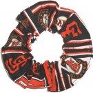 San Franciscon Giants Patchwork Fabric Hair Scrunchie Scrunchies by Sherry MLB Baseball