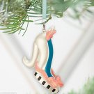 Disney Marie Runway Shoe Christmas Ornament Theme Parks