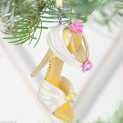 Disney Belle Runway Shoe Christmas Ornament Theme Parks