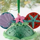 Disney Ariel The Little Mermaid Ear Hat Christmas Ornament Theme Parks
